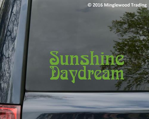 SUNSHINE DAYDREAM Vinyl Sticker - Grateful Dead Jerry Garcia Bob Weir - Die Cut Decal