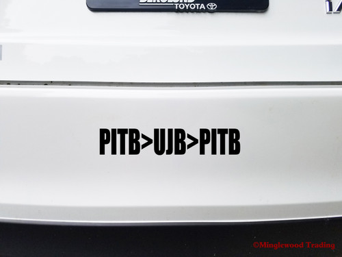 PITB>UJB>PITB Vinyl Decal Sticker - Grateful Dead Playing in the Uncle John's Band