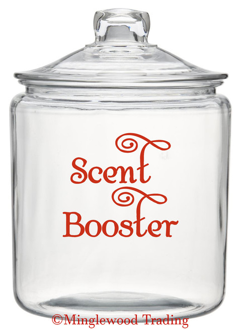 "Scent Booster 4.5"" x 4"" Vinyl Decal Sticker - Clothes Detergent Mud Room Cleaning"