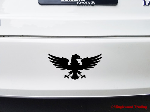 SPREAD EAGLE Vinyl Sticker - Coat of Arms Crest Heraldry - Die Cut Decal