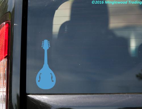 MANDOLIN - Vinyl Decal Sticker - Bluegrass - Picking - Guitar - Instrument
