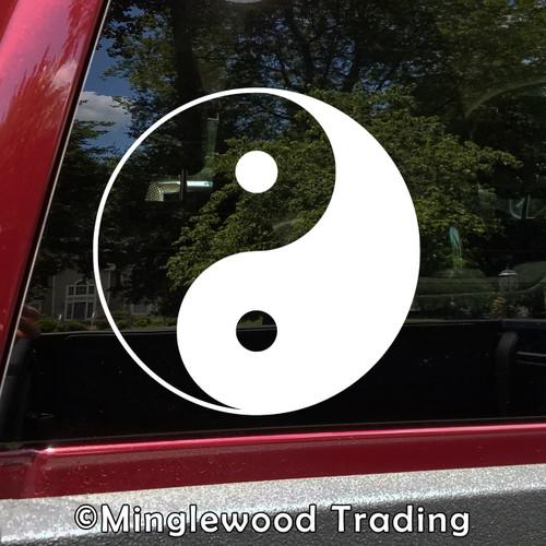 YIN YANG Vinyl Decal Sticker - Yin and Yang - Chinese Philosophy