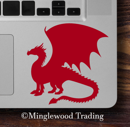 DRAGON Vinyl Decal Sticker -V4- Wyvern Medieval Fantasy Gaming