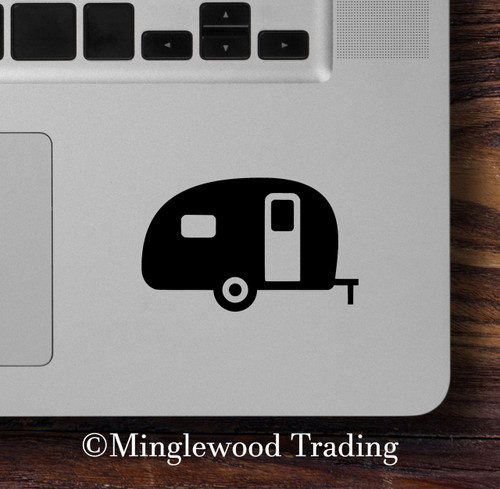 CAMPER Vinyl Sticker - RV Travel Trailer TT Camping 5th Wheel Glamping