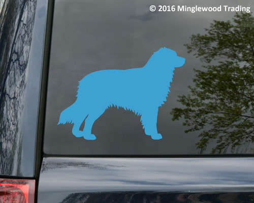 AUSTRALIAN SHEPHERD Vinyl Sticker -V2- Auss Aussie Dog Puppy - Die Cut Decal