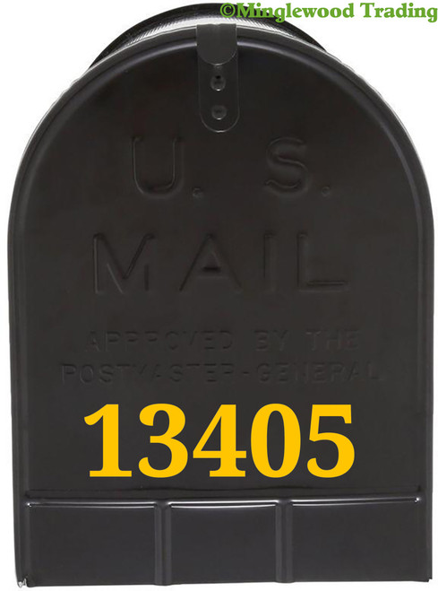 """Mailbox Numbers Vinyl Sticker - 1"""" to 10"""" tall - Custom House Lettering Name Home Office Address - Die Cut Decal DROID"""