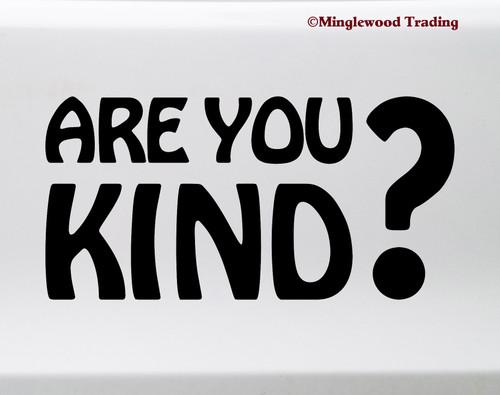 Are You Kind? Vinyl Sticker - Grateful Dead - Die Cut Decal V1