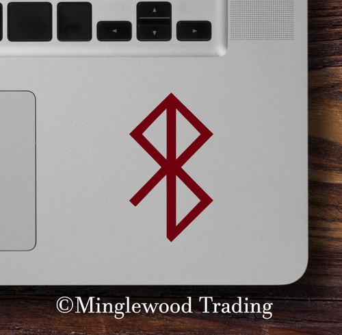 Peace Bindrune Vinyl Sticker - Viking Symbol Bind Rune - Die Cut Decal