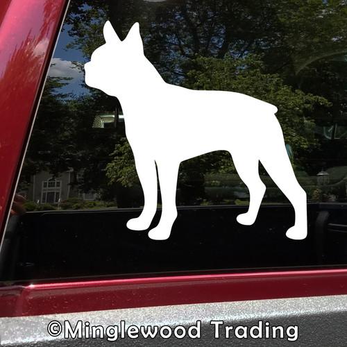 Boston Terrier V3 Vinyl Sticker - American Gentleman Dog Puppy - Die Cut Decal