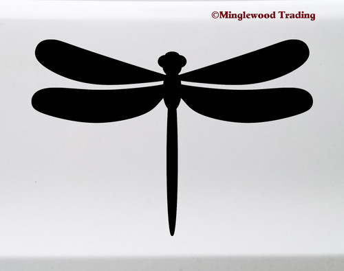 Dragonfly Vinyl Sticker - Flying Insect - Die Cut Decal - Damselfly Bug Swamp