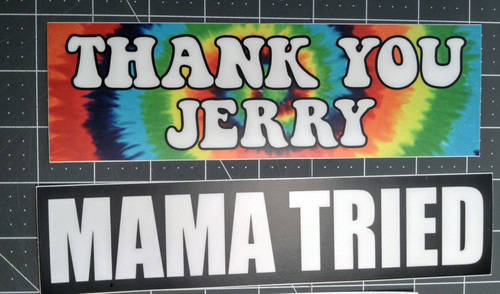5-pack Grateful Dead Bumper Stickers V1 Jerry Garcia Help Slip Frank Morning Dew