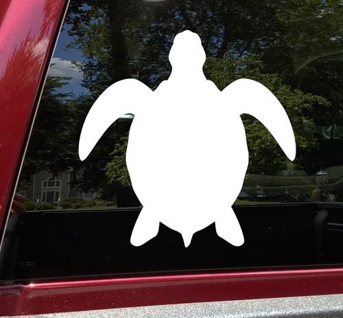 Sea Turtle V3 Vinyl Decal - Ocean Marine - Die Cut Sticker