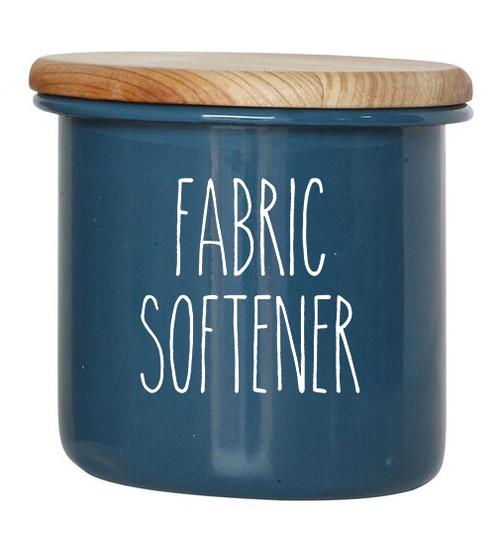 Fabric Softener - Rae Dunn Inspired Vinyl Sticker - Laundry Room Storage Home Organization Farmhouse - Die Cut Decal