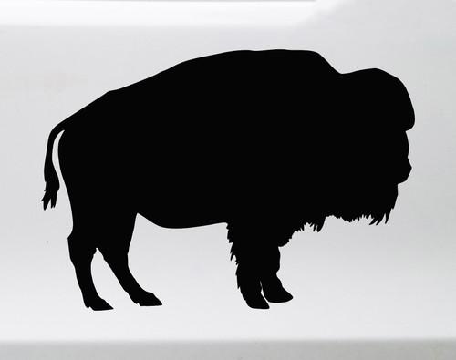 Buffalo V2 Vinyl Decal - Bison Wisent Prairie Animal - Die Cut Sticker