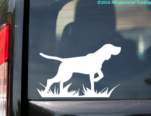 """Bird Dog  vinyl decal sticker 5.5"""" x 3.5"""" German Shorthaired Pointer"""