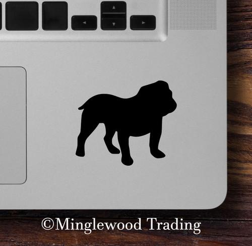 BULLDOG Vinyl Sticker - English British Dog Puppy Canine - Die Cut Decal