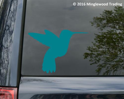 HUMMINGBIRD Vinyl Sticker - Bird - Die Cut Decal