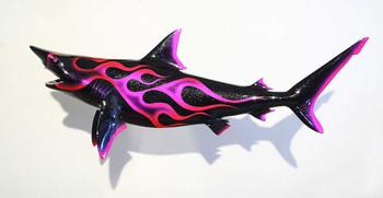 Blacktip Shark with custom flame paint CUSTOM ORDER