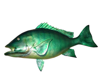 Emerald Snapper fiberglass fish replica