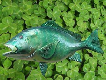 Emerald Snapper fiberglass fish replica