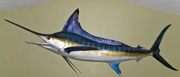 Striped Marlin 106L inch Full Mount Fiberglass Fish Replica