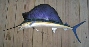 Sailfish fiberglass fish replica