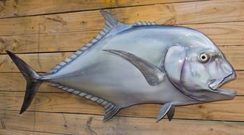 African Pompano fiberglass fish replica
