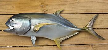 Jack Crevalle fiberglass fish replica