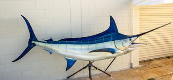 Blue Marlin fiberglass fish replica