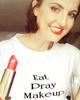 T-Shirt Eat Pray Makeup