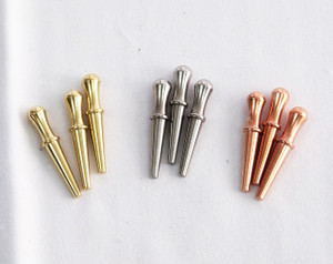 Cribbage Pegs 9 pegs in 3 colors
