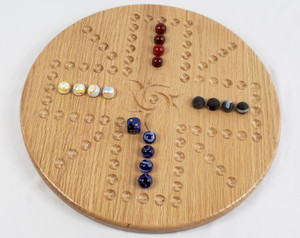 Aggravation/Wahoo 4 Player - in Oak