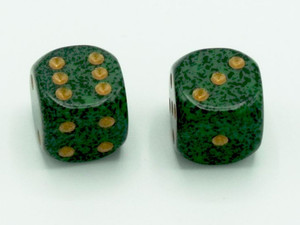 16mm d6 Speckled Golden Recon dice