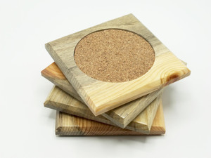 Beetle Kill Pine Coasters 4 Pack