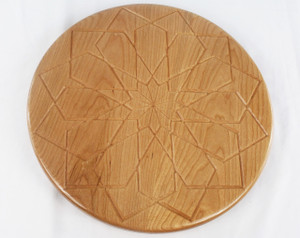 Cherry Square Rose Lazy Susan