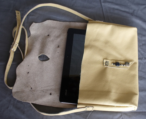 Light Tan Purse with Jasper
