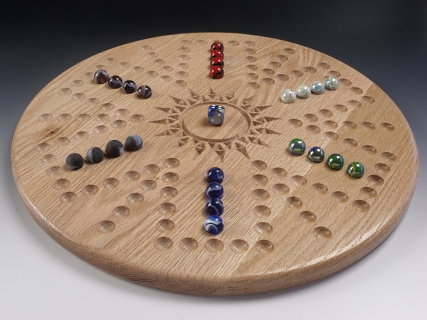 Aggravation/Wahoo 6 Player in Oak
