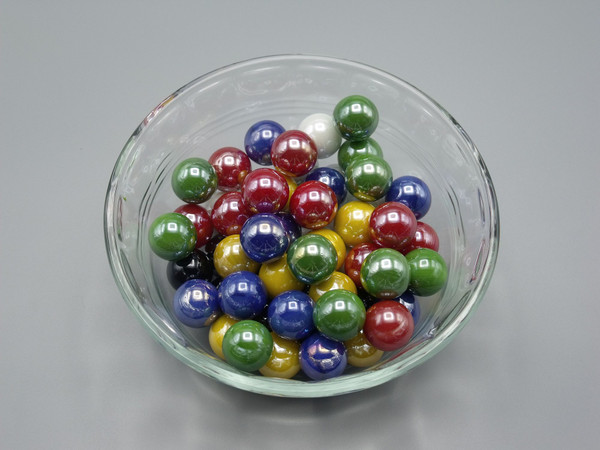 Iridized Replacement Chinese Checkers Marbles