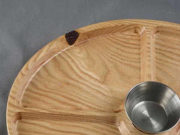 Oval Tray 3 Honey Locust - Serving Tray