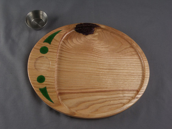 Copy of Oval Tray 4 Honey Locust - Serving Tray