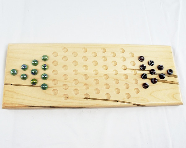 2 Player Chinese Checkers - Ambrosia Maple