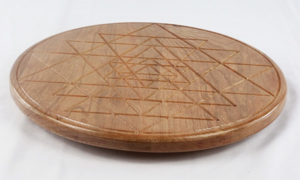 Cherry Sri Yantra Lazy Susan