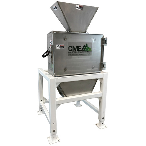 NEW CME, MILL-HMS-VB3-SS, 3HP Stainless Steel Hammermill