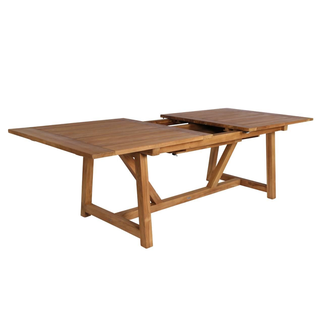 Sika Design George Teak Extension Table Outdoor Teak Dining Table