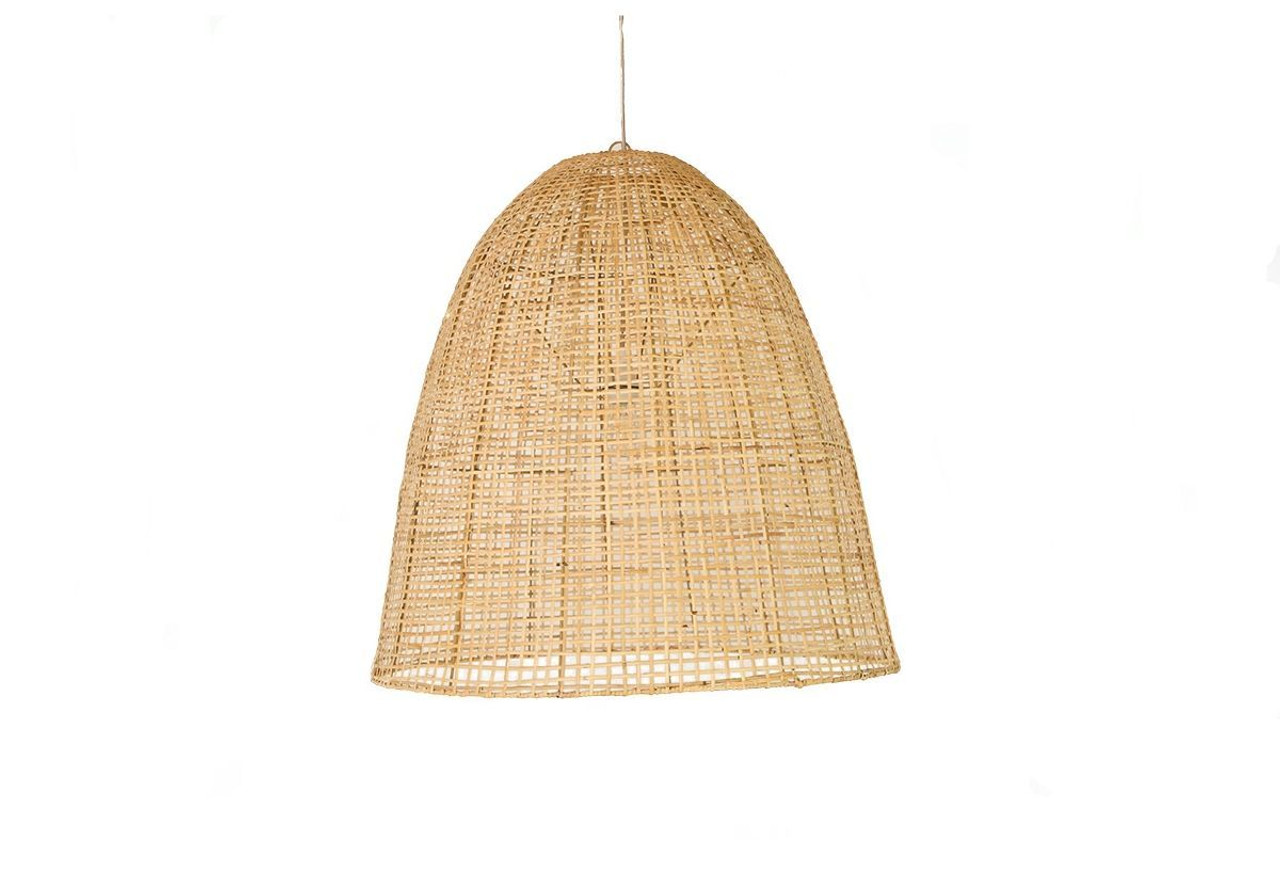 Rattan Hanging Showroom Basket Light Shade