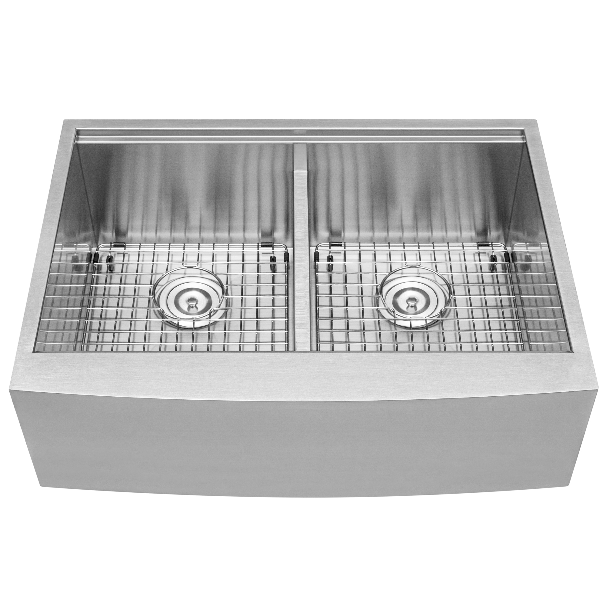 Double Basin Apron Sinks
