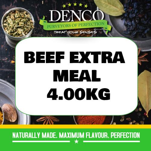 Denco Beef Extra Sausage Meal, Premix, Seasoning 4kg
