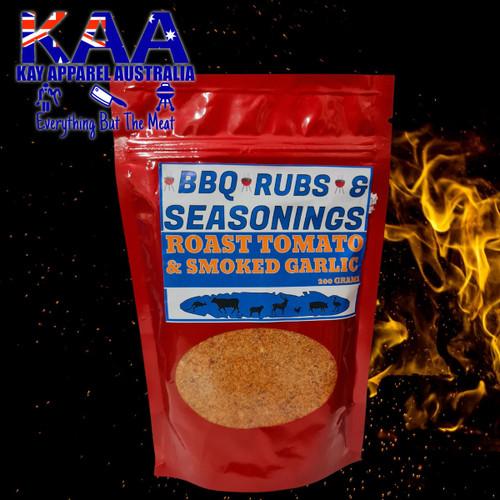BBQ Rubs, Roasted Tomato & Smoked Garlic BBQ Rub Sprinkle 200 Grams