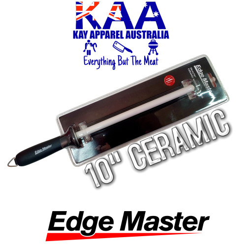 Edge Master Ceramic Sharpening Steel 10""