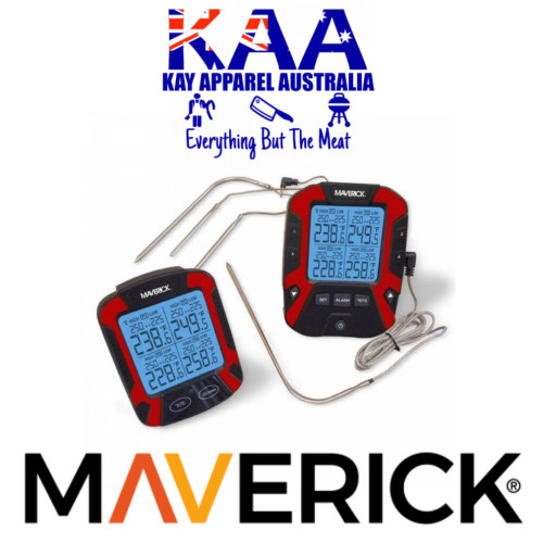 Maverick XR-50 REMOTE BBQ THERMOMETER - FOUR PROBES
